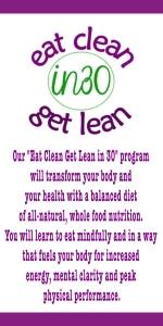 eat clean get lean 30